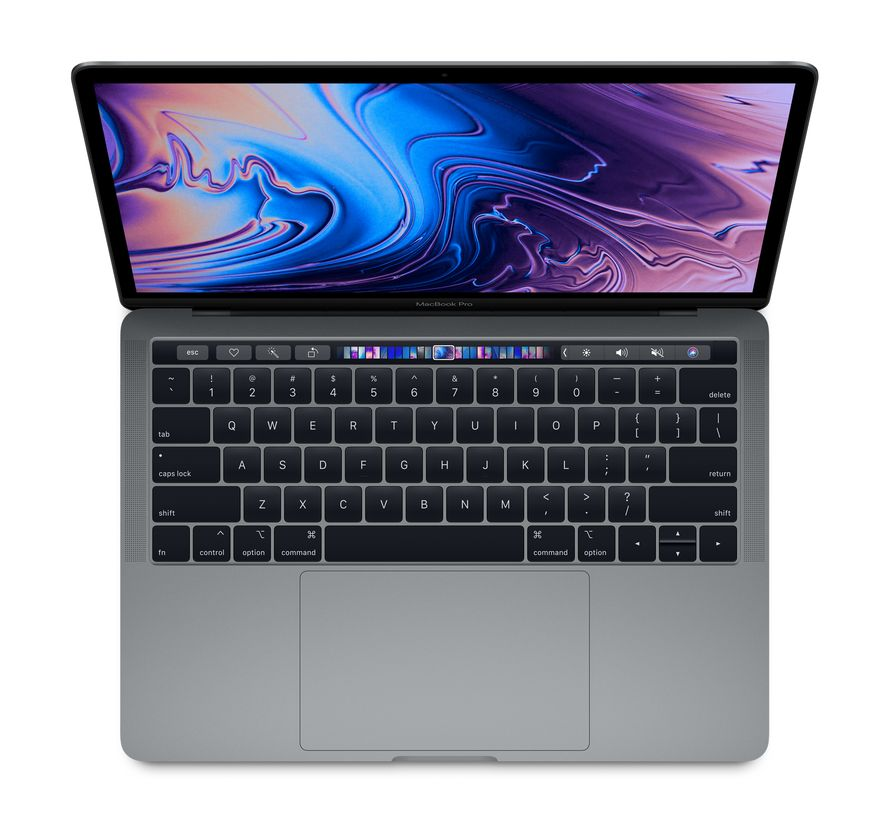 "13.3"" MacBook Pro Touchbar i5 512GB/8GB/Space Gray/DE (Late 2018)"